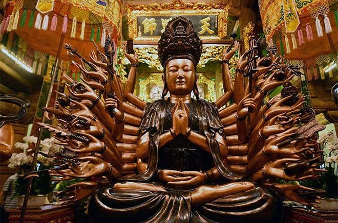 Đẹp ngoạn mục quần thể văn hóa tâm linh trên đỉnh Ba Đèo, Hạ Long ảnh 8