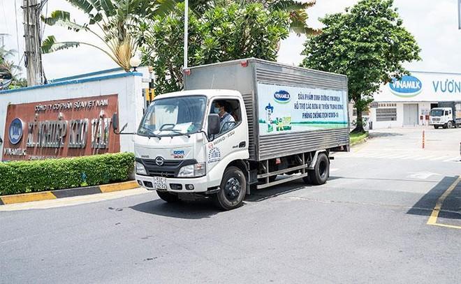 Vinamilk ủng hộ 48.000 sản phẩm cho lực lượng tuyến đầu TP. Hồ Chí Minh trong 2 tuần chống dịch cao điểm ảnh 2