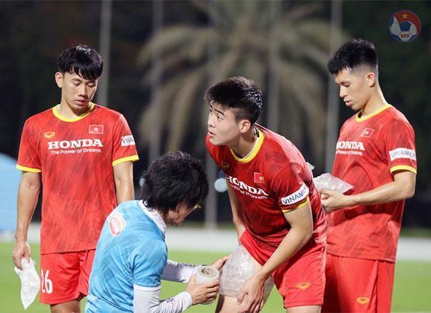 """Sữa Vinamilk """"xách tay"""" từ Việt Nam bổ sung dinh dưỡng cho Đội tuyển quốc gia khi thi đấu tại Dubai ảnh 1"""