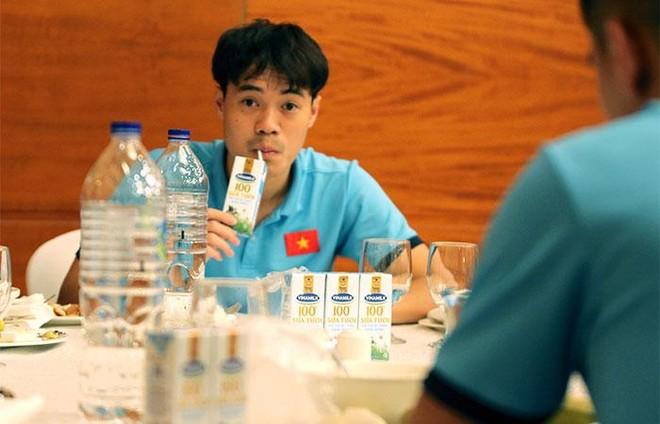 """Sữa Vinamilk """"xách tay"""" từ Việt Nam bổ sung dinh dưỡng cho Đội tuyển quốc gia khi thi đấu tại Dubai ảnh 3"""