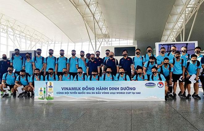 """Sữa Vinamilk """"xách tay"""" từ Việt Nam bổ sung dinh dưỡng cho Đội tuyển quốc gia khi thi đấu tại Dubai ảnh 4"""