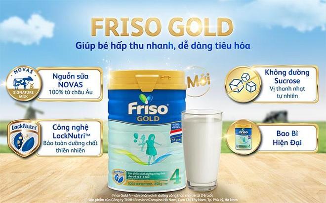 Đột phá từ Friso Gold mới: Nguồn sữa Novas chứa đạm nhỏ tự nhiên, giúp bé tiêu hoá dễ dàng ảnh 1
