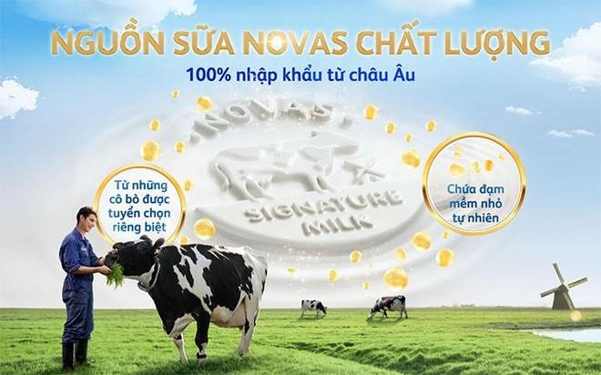 Đột phá từ Friso Gold mới: Nguồn sữa Novas chứa đạm nhỏ tự nhiên, giúp bé tiêu hoá dễ dàng ảnh 2