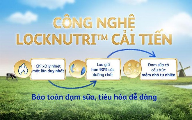 Đột phá từ Friso Gold mới: Nguồn sữa Novas chứa đạm nhỏ tự nhiên, giúp bé tiêu hoá dễ dàng ảnh 3