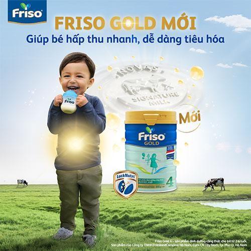 Đột phá từ Friso Gold mới: Nguồn sữa Novas chứa đạm nhỏ tự nhiên, giúp bé tiêu hoá dễ dàng ảnh 5