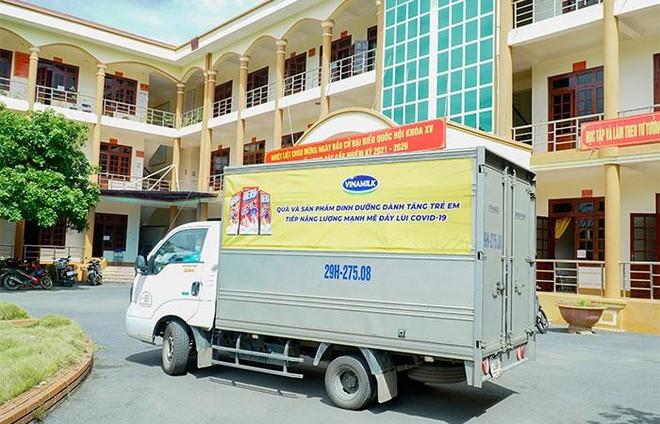 Quỹ sữa Vươn cao Việt Nam và hành trình mang sữa đến với trẻ em Điện Biên giữa đại dịch ảnh 4