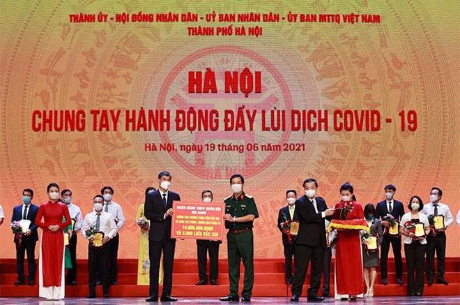 MB chung tay, góp sức cùng Hà Nội đẩy lùi COVID-19 ảnh 1