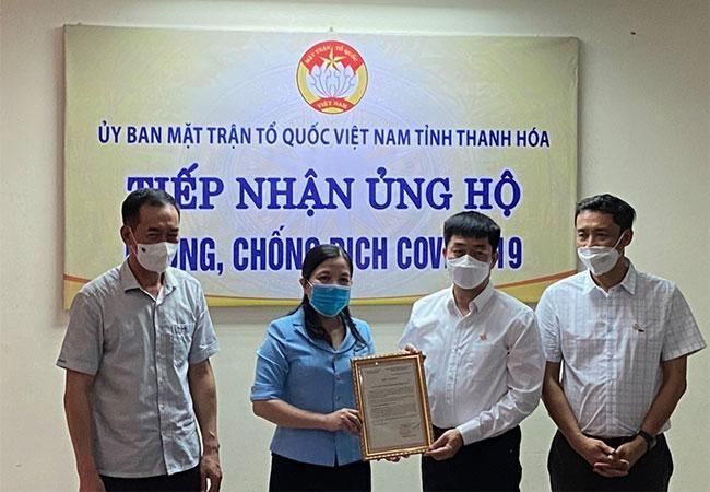 Tập đoàn Sun Group ủng hộ Thanh Hóa 10 tỷ đồng cho Quỹ phòng chống dịch Covid-19 ảnh 2