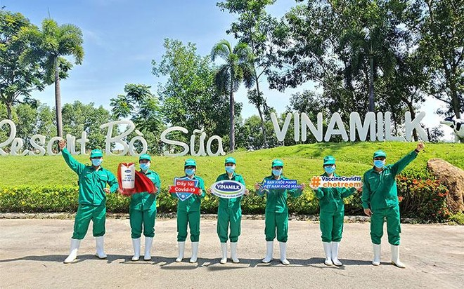"""Vinamilk khởi động chiến dịch """"Bạn khỏe mạnh, Việt Nam khỏe mạnh"""" với hoạt động góp Vaccine phòng Covid-19 cho trẻ em ảnh 2"""