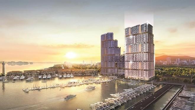 """Tòa tháp mới """"cực phẩm"""" tại Tổ hợp Sun Marina Hạ Long bên Vịnh Du thuyền chính thức ra mắt ảnh 1"""