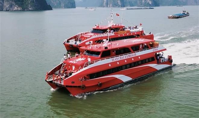 Khai trương tuyến tàu cao tốc từ Cảng tàu khách quốc tế Hạ Long đi Cô Tô ảnh 2