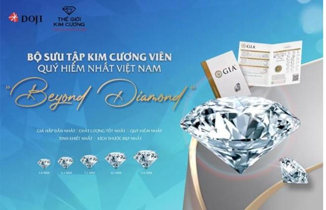 """Khám phá Bộ sưu tập kim cương viên quý hiếm nhất Việt Nam """"Beyond Diamond"""" ảnh 1"""