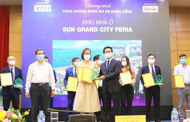 """Sun Property (thành viên Sun Group) giành 4 giải thưởng tại chương trình """"Dự án đáng sống 2021"""" ảnh 1"""