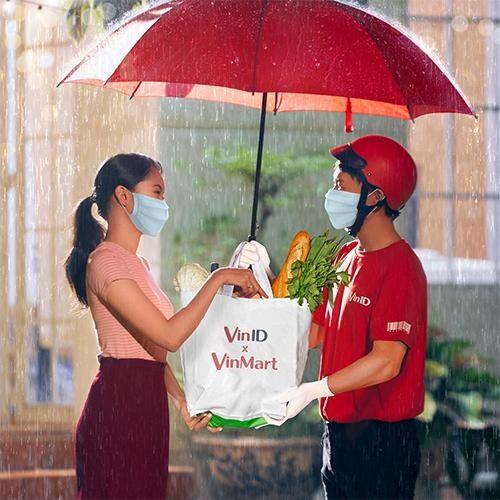 Đi chợ online VinMart trên VinID, an toàn giữa tâm dịch ảnh 1
