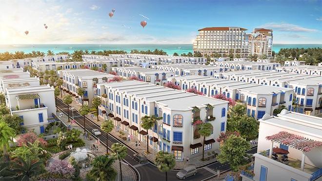 """The Blue Village – """"tiểu Santorini"""" độc đáo giữa lòng đại đô thị nghỉ dưỡng FLC Quảng Bình ảnh 2"""