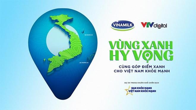 """Vinamilk góp 1 triệu ly sữa cho trẻ em khó khăn với hoạt động """"Cùng góp điểm xanh, cho Việt Nam khoẻ mạnh"""" ảnh 1"""