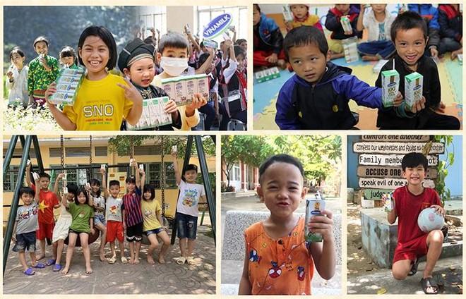 """Vinamilk góp 1 triệu ly sữa cho trẻ em khó khăn với hoạt động """"Cùng góp điểm xanh, cho Việt Nam khoẻ mạnh"""" ảnh 2"""