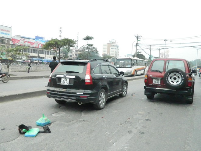 Va chạm giao thông khiến 2 người nguy kịch