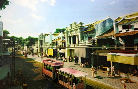 Tàu điện - sống lại những hình ảnh đẹp về Hà Nội ảnh 10
