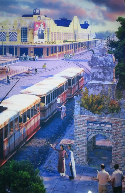 Tàu điện - sống lại những hình ảnh đẹp về Hà Nội ảnh 5
