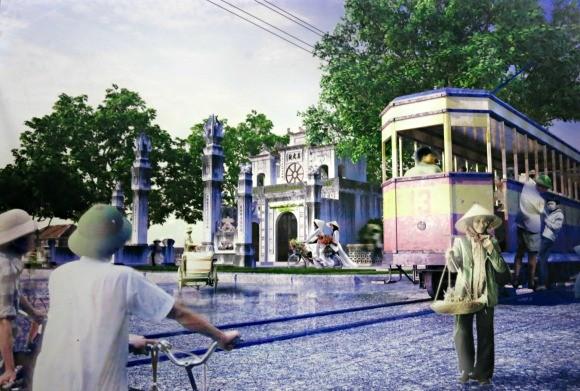 Tàu điện - sống lại những hình ảnh đẹp về Hà Nội ảnh 8