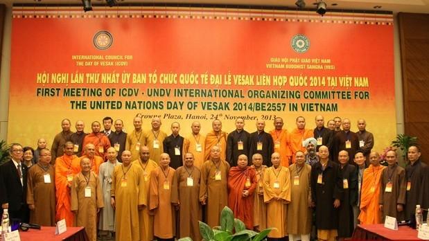 Việt Nam đăng cai Đại lễ Vesak 2014 ảnh 1