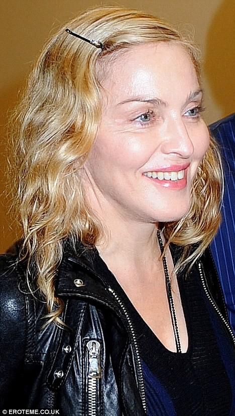 Madonna xuất hiện với bộ mặt... nhăn nheo ảnh 1