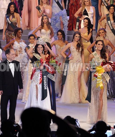 Nhan sắc Ecuador lên ngôi Miss Earth 2011