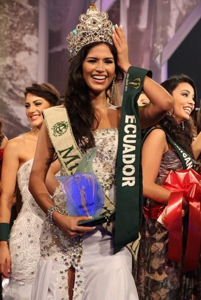 Nhan sắc Ecuador lên ngôi Miss Earth 2011 ảnh 1