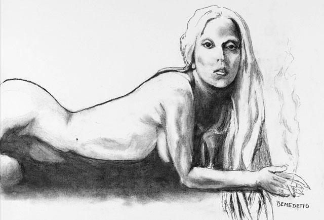 Đấu giá tranh khỏa thân của Lady Gaga ảnh 1