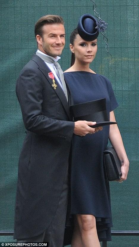 Vợ chồng Beckham tức giận vì không được làm VIP? ảnh 1