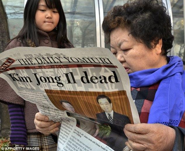 Hình ảnh người dân Triều Tiên tiếc thương chủ tịch Kim Jong Il ảnh 10