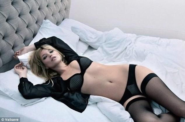 Kate Moss nóng bỏng trong quảng cáo đồ lót ảnh 4