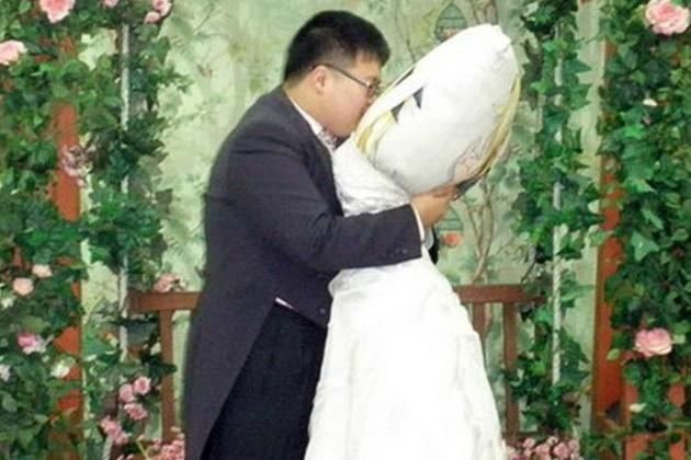 Những đám cưới kỳ quặc nhất thế giới ảnh 11