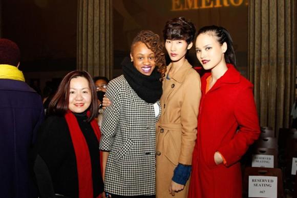 Người mẫu Việt liên tục nhận show tại Mỹ ảnh 1