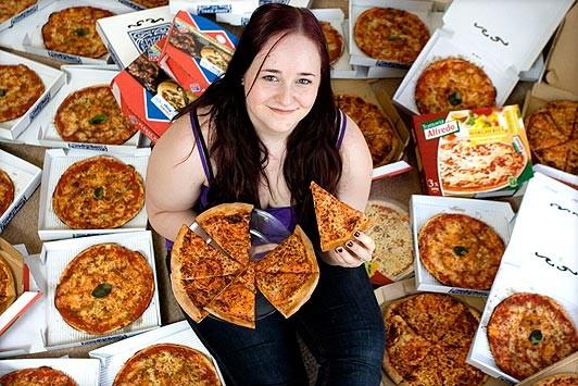8 năm trời không ăn gì ngoài Pizza ảnh 1