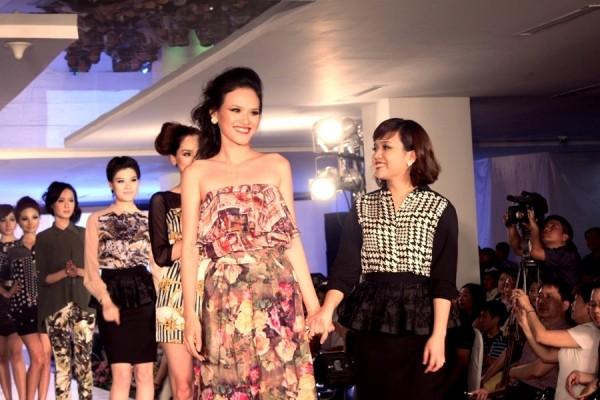 Tuyết Lan ấn tượng tại Hà Nội Fashion Week ảnh 6