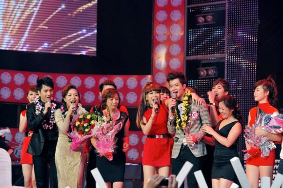 Được Hồ Hoài Anh cám ơn, Quốc Huy chiến thắng Ngôi nhà âm nhạc 2012 ảnh 1