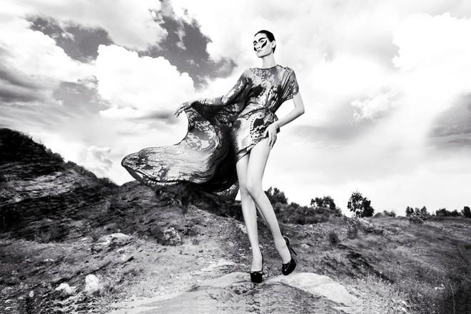 """""""Chân dài"""" Thùy Trang lọt vào ngôi nhà chung Asia's Next Top Model ảnh 6"""