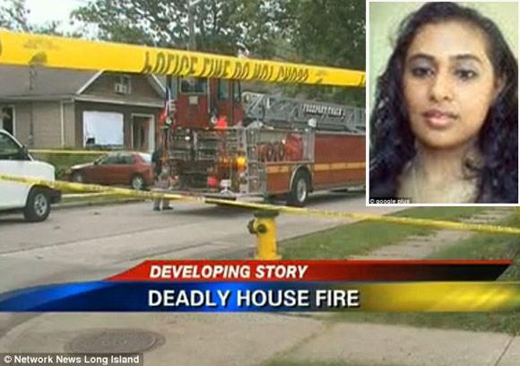 Mâu thuẫn, chồng chặn cửa, phóng hỏa đốt chết vợ ảnh 1