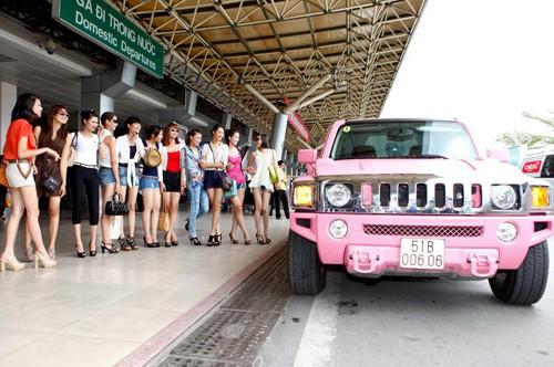 Chơi sang như Vietnam's next top model! ảnh 1