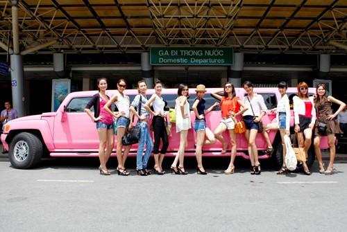Chơi sang như Vietnam's next top model! ảnh 2