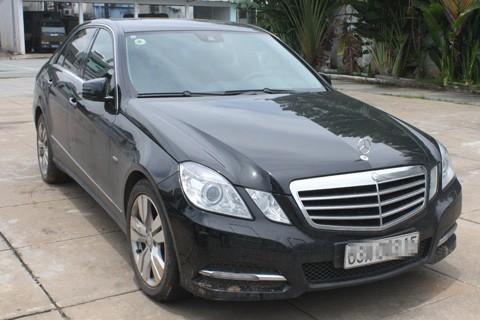 Tiền Giang: Trộm xe Mercedes, chở 4 bạn gái đi chơi ảnh 1