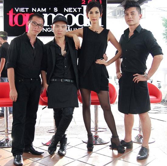 Hết mặc váy, nam giám khảo Top model lại giả gái gây sốc ảnh 5