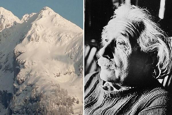 Phát hiện ngọn núi giống hệt thiên tài Albert Einstein ảnh 1