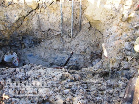 Phát hiện đầu tên lửa nằm sâu dưới lòng đất ảnh 1