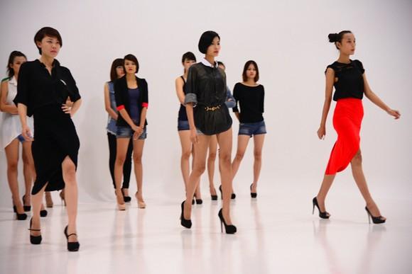 Hé lộ kịch bản đêm chung kết Vietnam's next top model 2012 ảnh 6