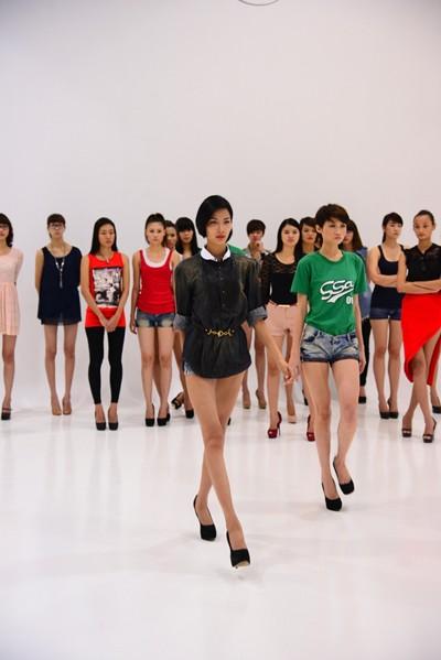 Hé lộ kịch bản đêm chung kết Vietnam's next top model 2012 ảnh 4