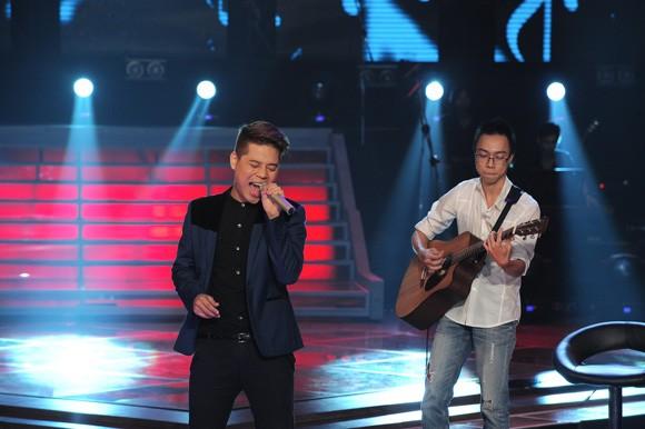"""Bị loại ở The Voice, Thái Trinh, Trần Nghĩa """"càn quét"""" Bài hát Việt ảnh 2"""
