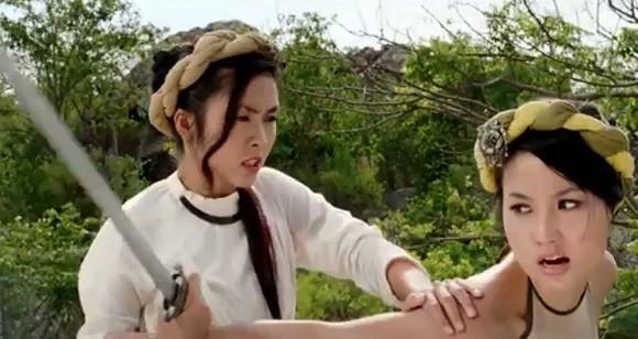 """Thanh Hằng, Tăng Thanh Hà nóng bỏng trong """"Mỹ nhân kế"""" ảnh 4"""